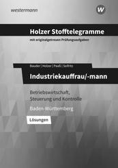 Holzer Stofftelegramme Baden-Württemberg - Industriekauffrau/-mann - Lösungen