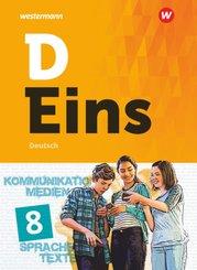 D Eins - Deutsch Gymnasium: 8. Schuljahr, Schülerband (inkl. Medienpool)