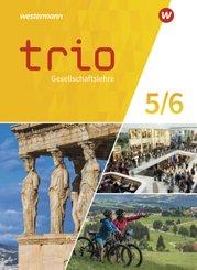 Trio Gesellschaftslehre - Ausgabe 2021 für Gesamtschulen in Nordrhein-Westfalen - Schülerband 5/6