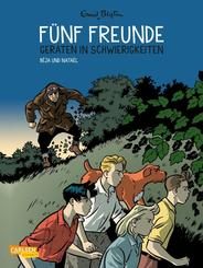 Fünf Freunde - Fünf Freunde geraten in Schwierigkeiten - Bd.5