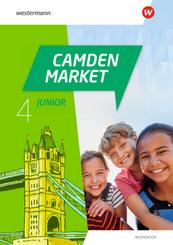 Camden Market Junior - Ausgabe 2020: Camden Market Junior - Ausgabe 2020 - Workbook 4 mit Audio-CDs