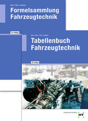 Paketangebot Tabellenbuch Fahrzeugtechnik und Formelsammlung Fahrzeugtechnik, m. 1 Buch, m. 1 Buch
