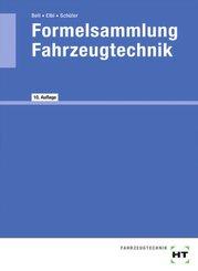 eBook inside: Buch und eBook Formelsammlung Fahrzeugtechnik, m. 1 Buch, m. 1 Online-Zugang