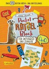 Pocket-Rätsel-Block: Unterwegs und Zuhause