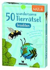 50 wundersame Tierrätsel - Insekten