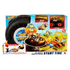 Hot Wheels Monster Trucks Stunt-Reifen Spielset
