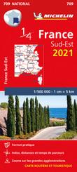Southeastern France 2021 - Michelin National Map 709