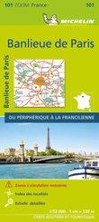 Michelin Vororte von Paris / Banlieue de Paris