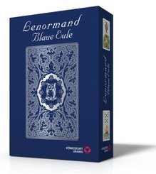 Lenormand Blaue Eule, Lenormandkarten + Anleitung