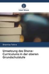 Umsetzung des Shona-Curriculums in der oberen Grundschulstufe