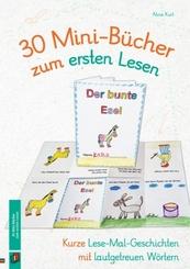 30 Mini-Bücher zum ersten Lesen