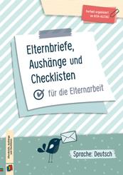 Perfekt organisiert im Kita-Alltag: Elternbriefe, Aushänge und Checklisten für die Elternarbeit