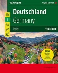 Deutschland / Germany, Autoatlas 1:200.000