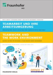 Teamarbeit und ihre Arbeitsumgebung.