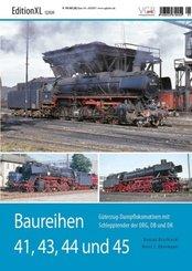DB  Baureihen 41, 43, 44 und 45