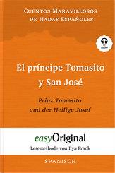 El príncipe Tomasito y San José / Prinz Tomasito und der Heilige Josef, m. Audio-CD