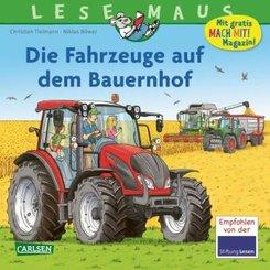 Die Fahrzeuge auf dem Bauernhof