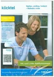 klicktel Telefon- und Branchenbuch + Rückwärtssuche Frühjahr 2021, 1 DVD