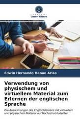Verwendung von physischem und virtuellem Material zum Erlernen der englischen Sprache