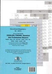 DürckheimRegister Gesetze des Freistaates Bayern 2021