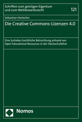 Die Creative Commons-Lizenzen 4.0