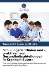 Schulungsrichtlinien und -praktiken von Gesundheitsabteilungen in Krankenhäusern