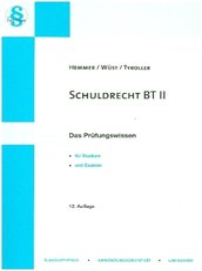 Schuldrecht BT II