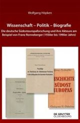 Wissenschaft - Politik - Biografie
