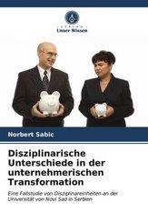 Disziplinarische Unterschiede in der unternehmerischen Transformation