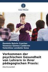 Vorkommen der psychischen Gesundheit von Lehrern in ihrer pädagogischen Praxis: