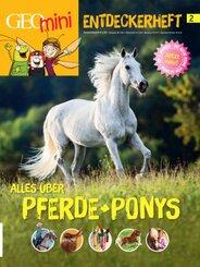 GEOlino mini Entdeckerheft 2/2016 - Alles über Pferde + Ponys