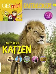 GEOlino mini Entdeckerheft 6/2017 - Alles über Katzen