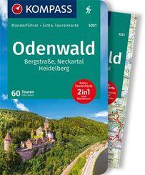 KOMPASS Wanderführer Odenwald