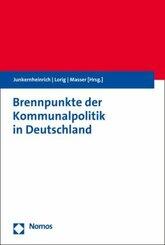 Brennpunkte der Kommunalpolitik in Deutschland