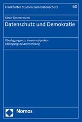 Datenschutz und Demokratie
