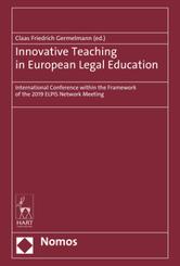 Innovative Teaching in European Legal Education