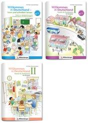 Sicher in die Grundschule - Sparpaket: Deutsch als Zweitsprache, 3 Teile