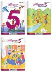 Sicher ins 6. Schuljahr - Sparpaket: Rechnen - Schreiben - Lesen - Grammatik · Klasse 5, 3 Teile