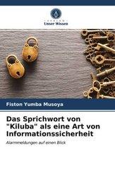 """Das Sprichwort von """"Kiluba"""" als eine Art von Informationssicherheit"""