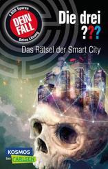 Die drei ???: Dein Fall: Das Rätsel der Smart City. Eine spannende Detektivgeschichte zum Mitraten für Kinder ab 10.