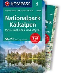KOMPASS Wanderführer Nationalpark Kalkalpen - Pyhrn-Priel, Enns- und Steyrtal