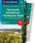 KOMPASS Wanderführer Naturpark Schwäbisch-Fränkischer Wald, Die Wanderregion bei Stuttgart, m. 1 Karte