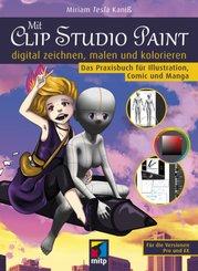 Mit Clip Studio Paint digital zeichnen, malen und kolorieren