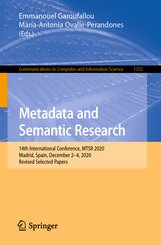 Metadata and Semantic Research