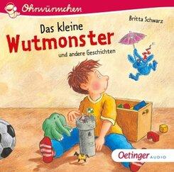 Das kleine Wutmonster, 1 Audio-CD
