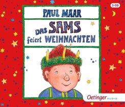Das Sams feiert Weihnachten, 3 Audio-CD