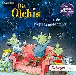 Die Olchis. Das große Weltraumabenteuer, 1 Audio-CD