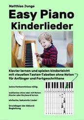 Easy Piano Kinderlieder