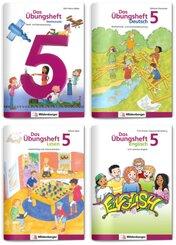 Sicher ins 6. Schuljahr - Sparpaket: Rechnen - Schreiben - Lesen - Grammatik - Englisch · Klasse 5, 4 Teile