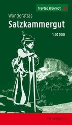 Salzkammergut, Wanderatlas 1:40.000